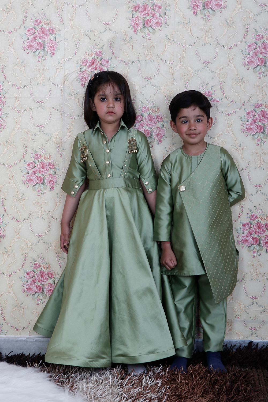 Pista Green Kids Combo Set