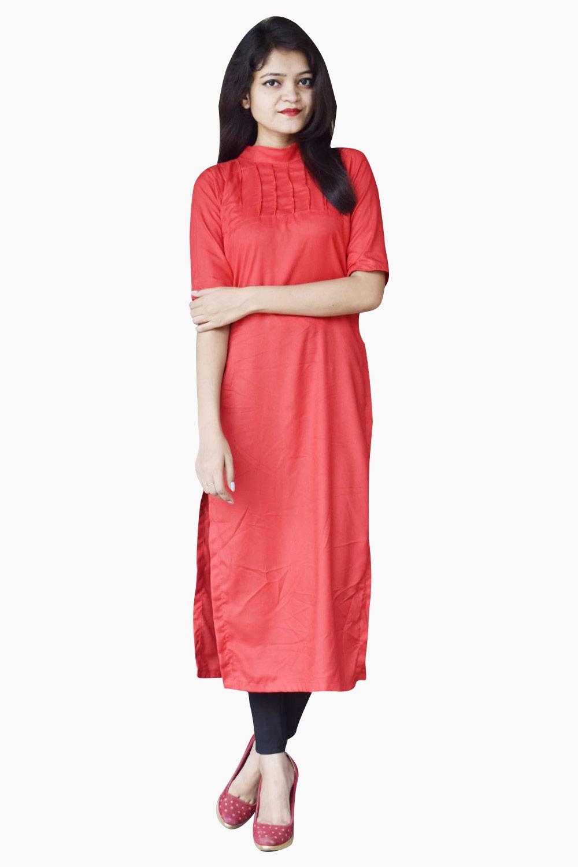 Red Rajkumari's Pretty Long Top