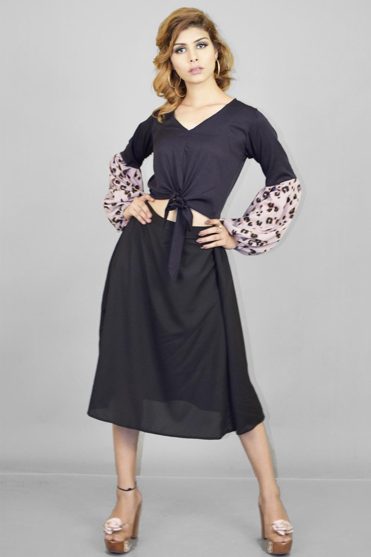 Stylish Skirt Top set