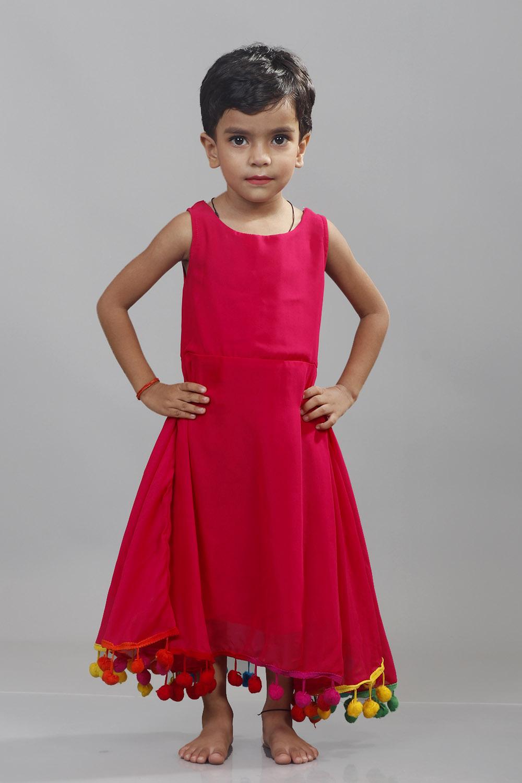 Magenta Pink Little Lashkara