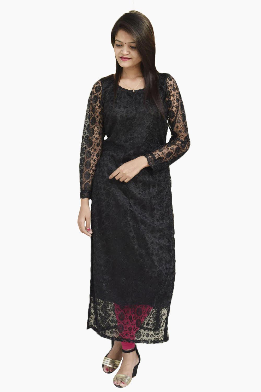 Black Elegant Kurti