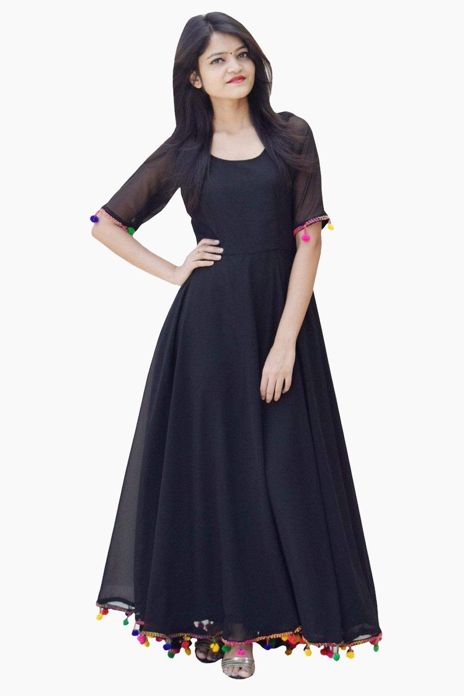 Black Lashkara Anarkali