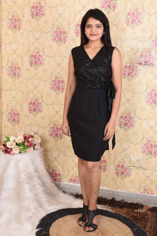 Black Short Party wear Dress
