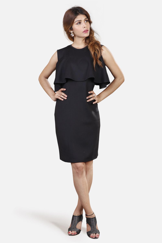 Black Sophia Dress