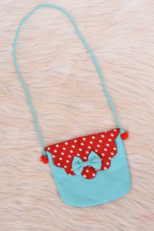 Blue color Baby sling Bag