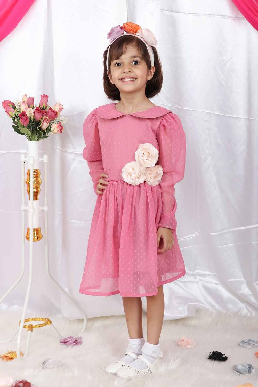 Blush Pink Baby Dress