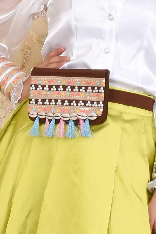 Brown Pretty Waist Belt Bag