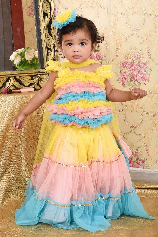 Colorful Lehanga Set
