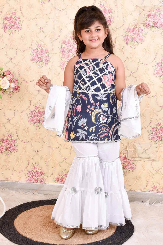 Cotton Sharara Set with Dupatta