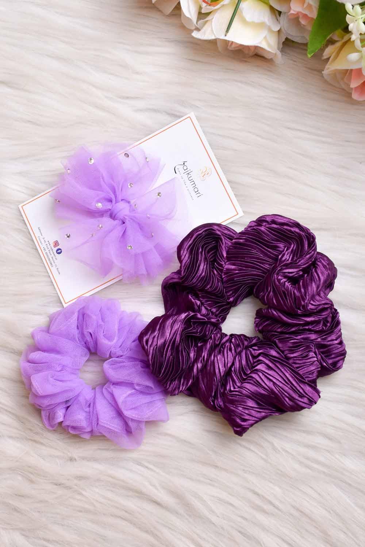 Cute Scrunchies Set