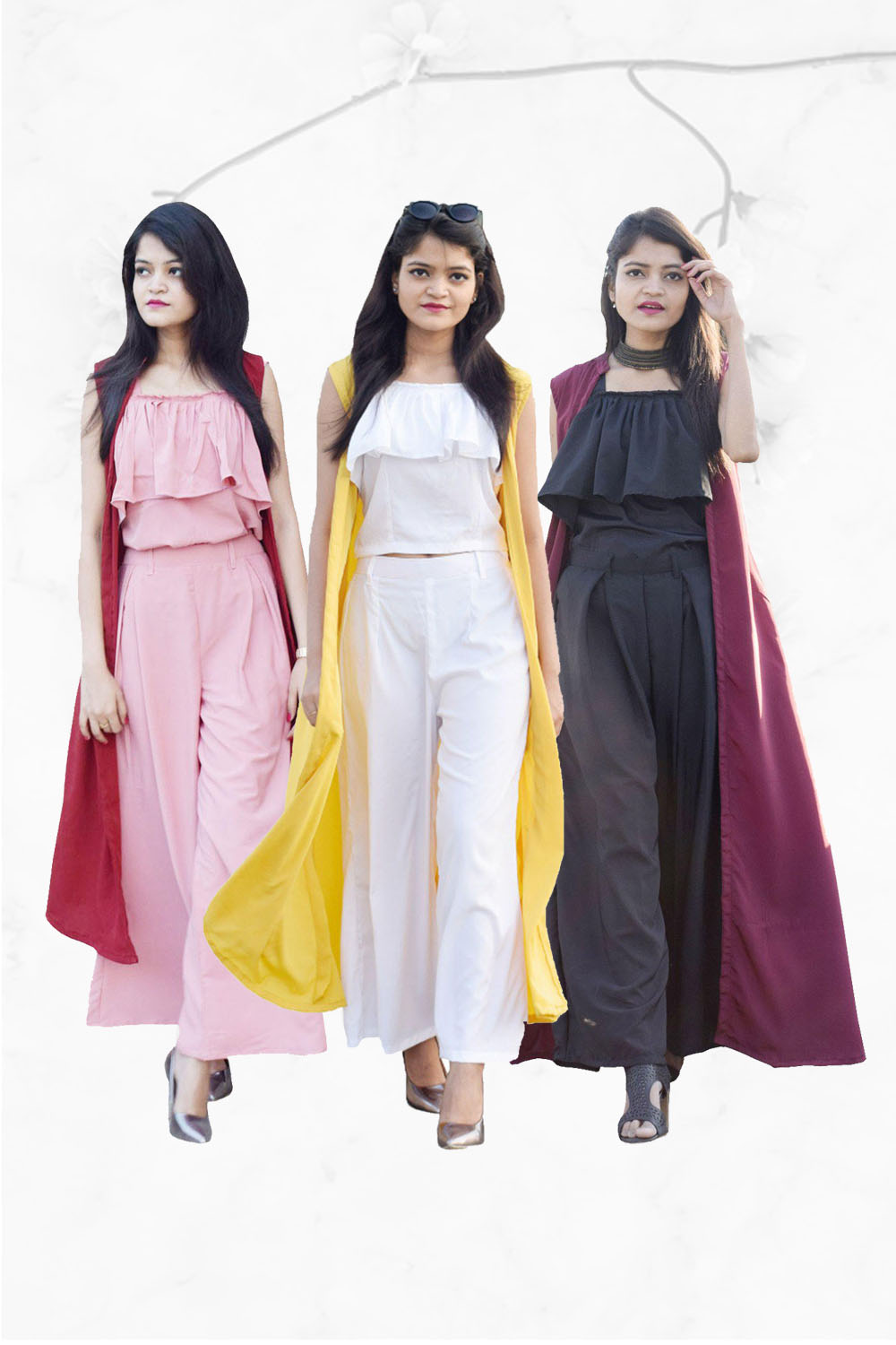 Easy Go Co Ord Combo (Pack of 3 )