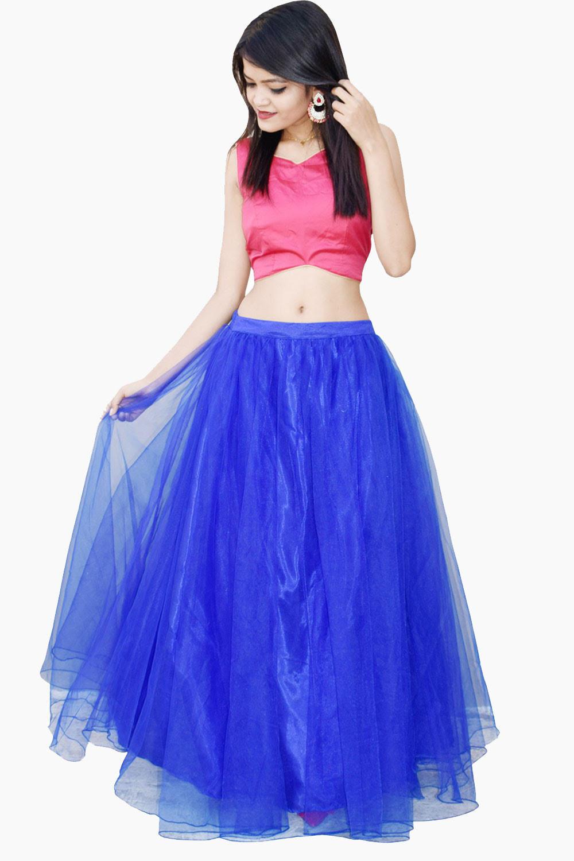 Flared Net Skirt