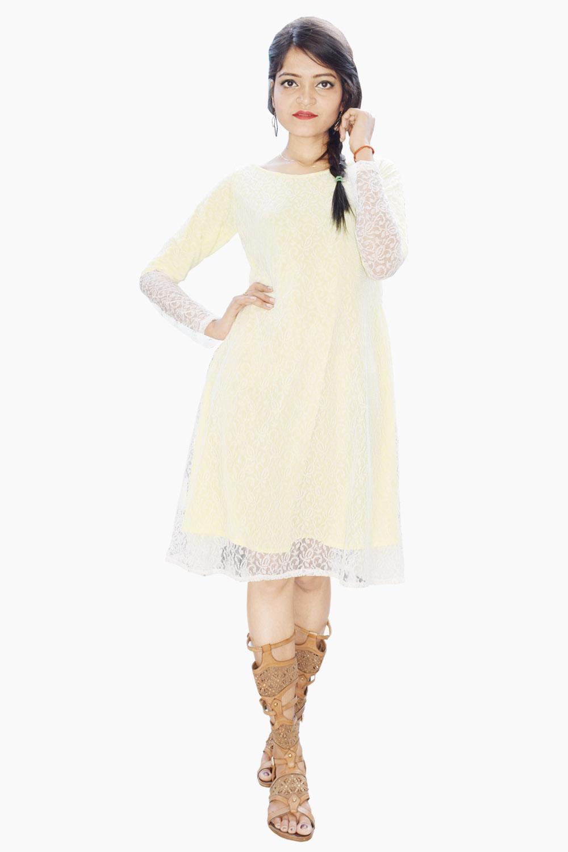 Lacy Skater Dress