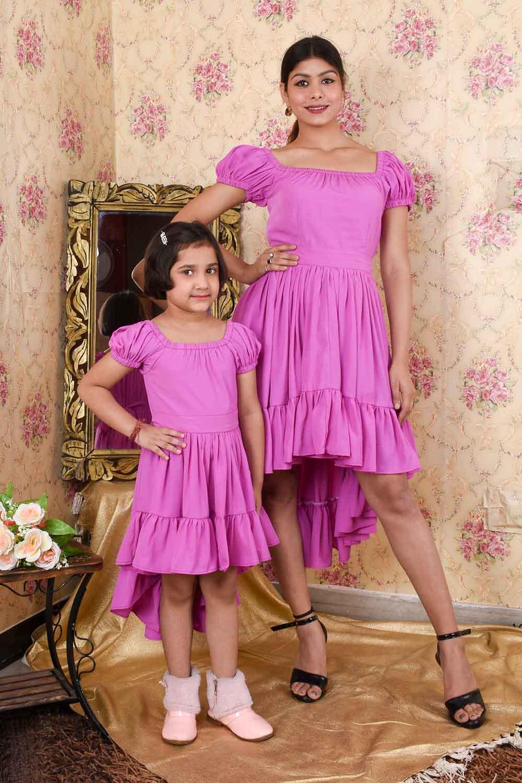 Lavender Mother Daughter Set