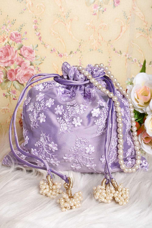 Lavender Potli Bag