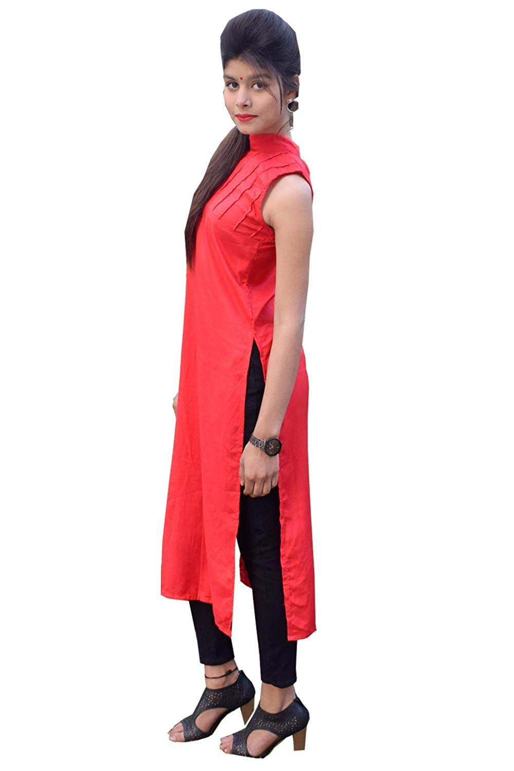Long Kurti With High Side Slit