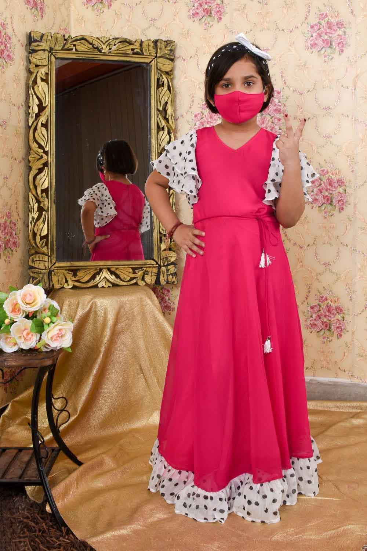 Magenta Pink Maxi Dress