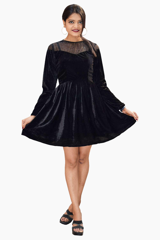 Margarita Velvet Dress
