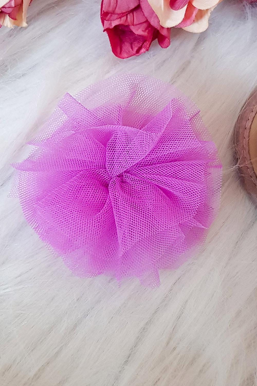 Net Flower Hair clip