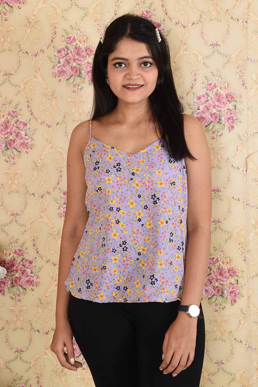 Floral Printed Summer Top