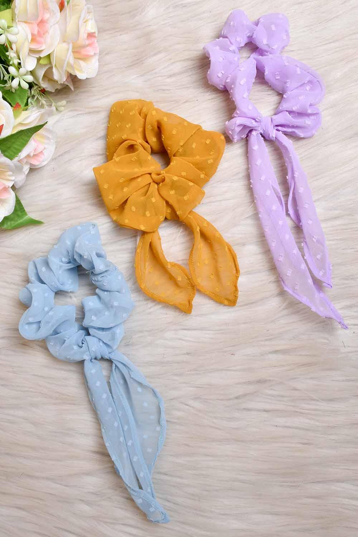 Pastel Scrunchies Combo