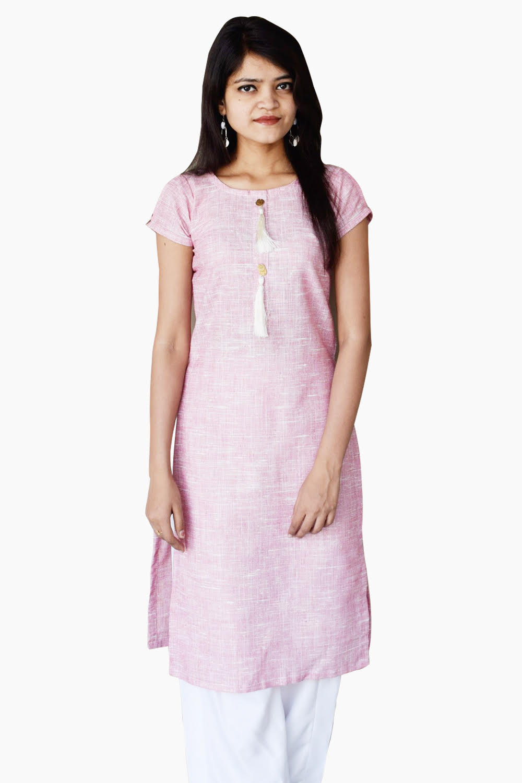 Pink Elegance My Way Kurti