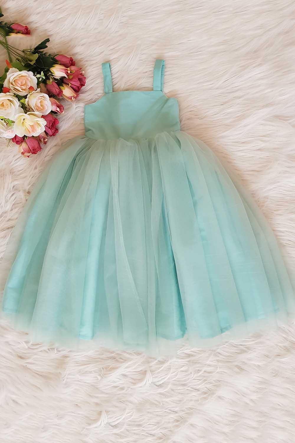Pista Green Fairy Tale Dress
