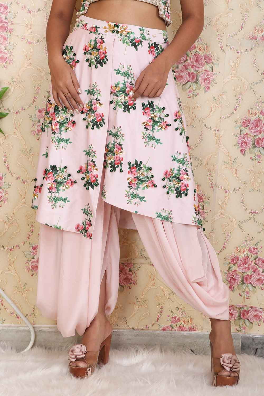 Printed Dhoti Pants