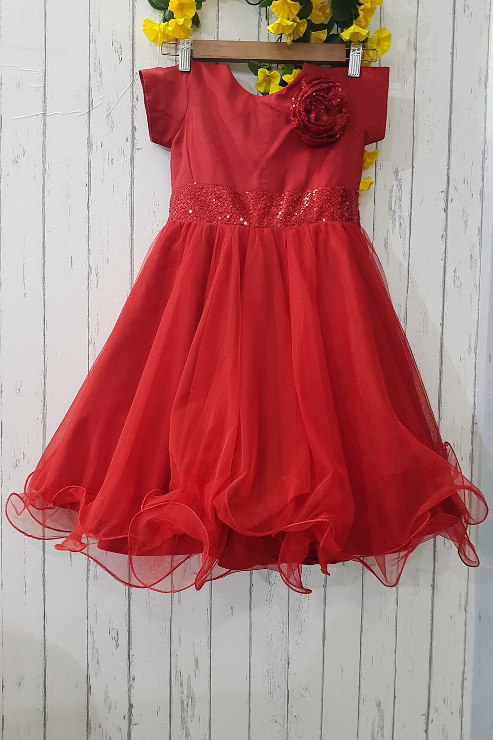 Red Baby Dress