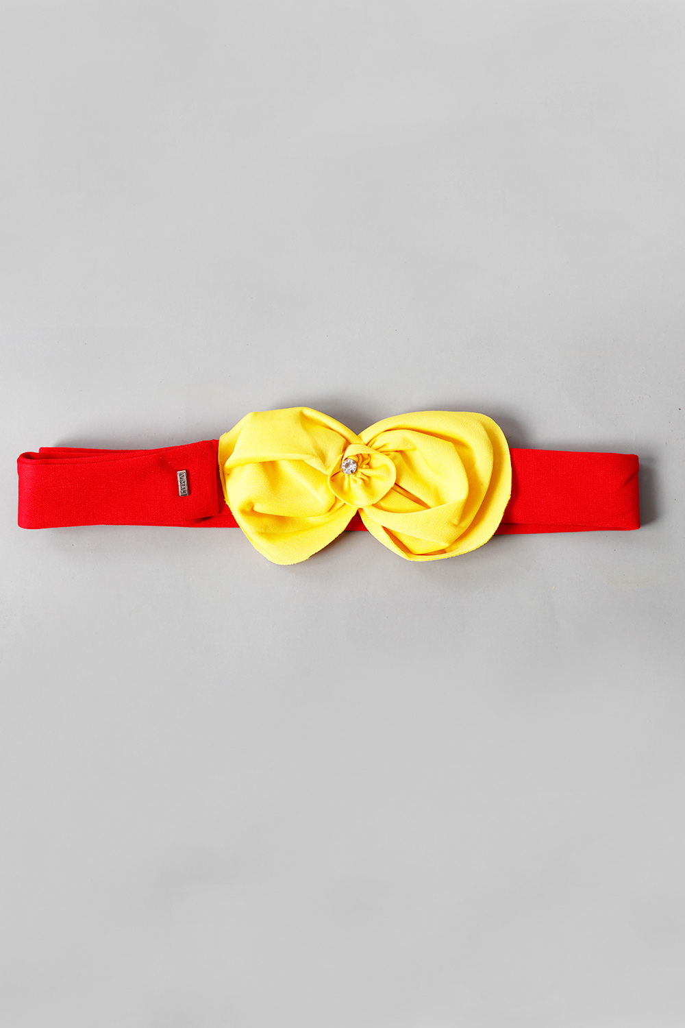 Red Scuba Belt with Yellow Flower