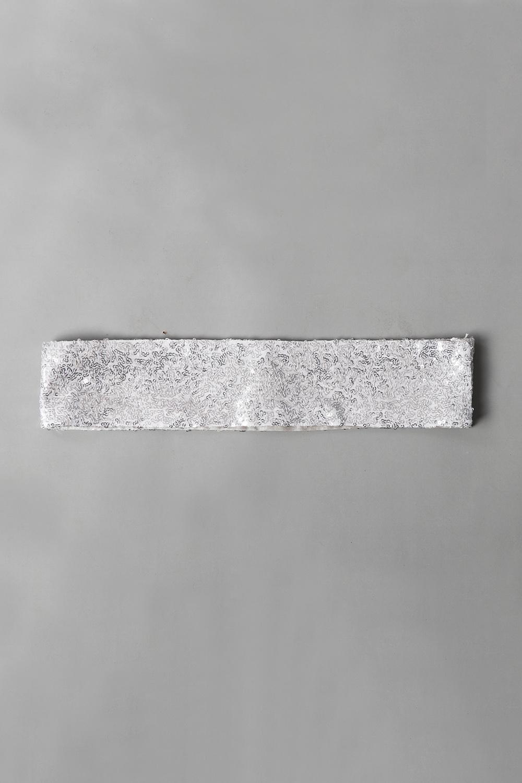 Silver Sequins Belt