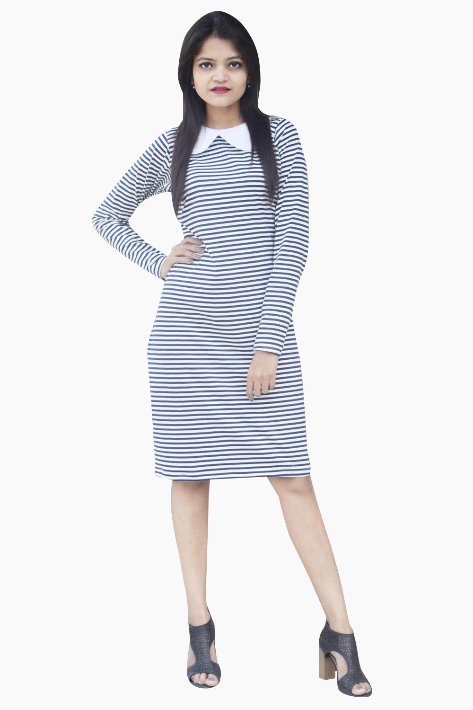 Stripe Out Dress