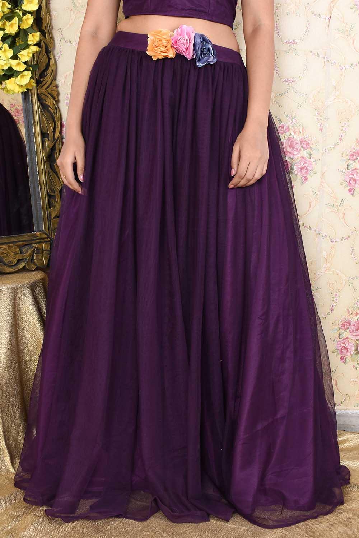 Vine Silk Skirt