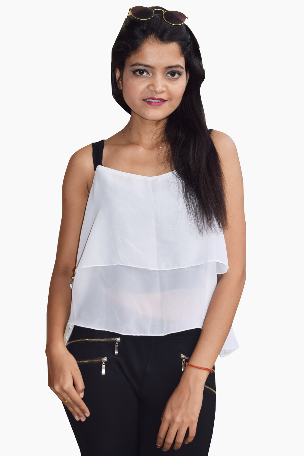 White Layer it Up Top