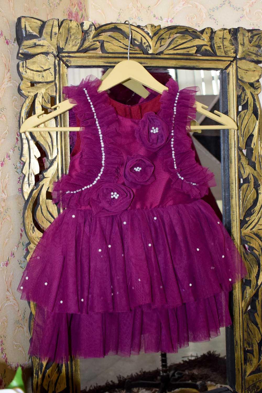 Wine Baby Dress