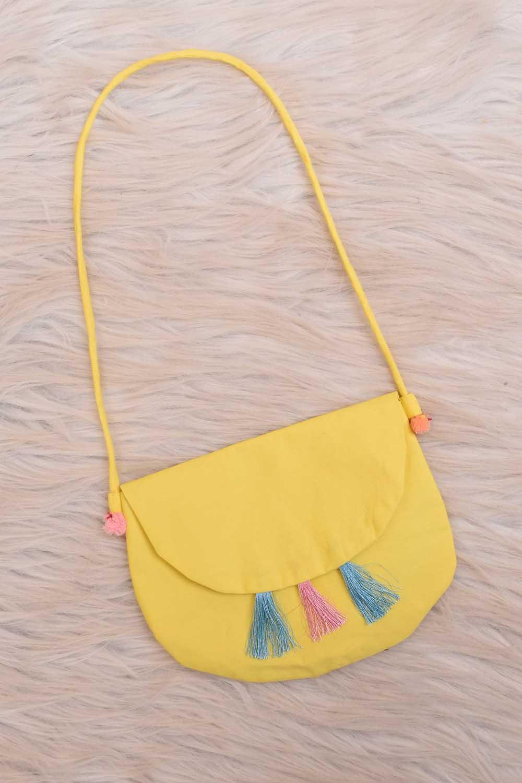 Yellow color Baby sling Bag